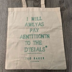 Ted Baker reusable tote - new